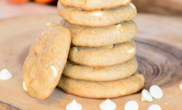 Gluten Free Pumpkin Spice White Chocolate Chip Cookies