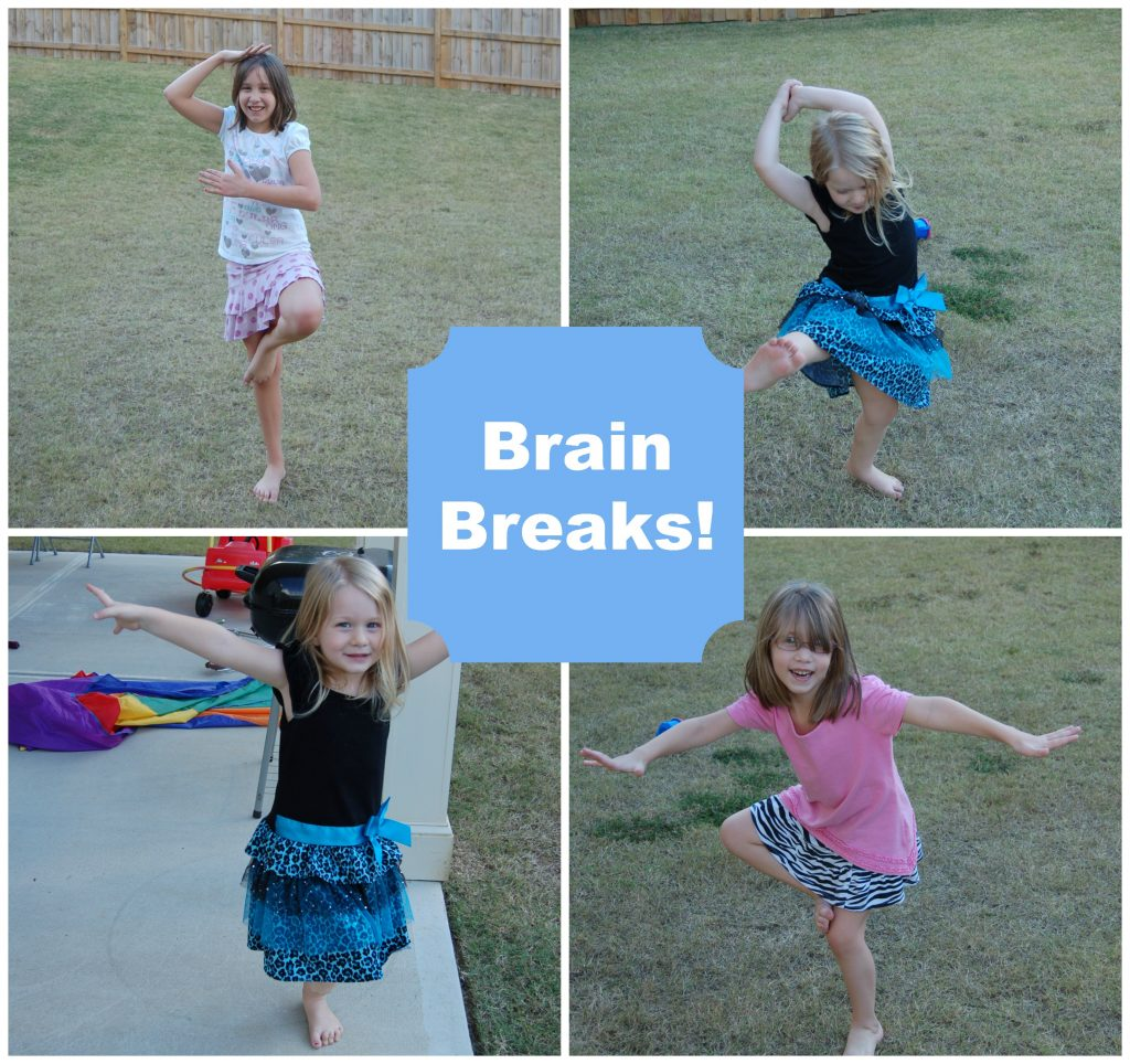 Ultimate Guide to Brain Breaks review. So important to take breaks throughout your homeschool day, or when a meltdown is imminent! These are great ideas! Love the 30 second dance party