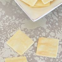 3 Ingredient Gluten Free & Paleo Crackers