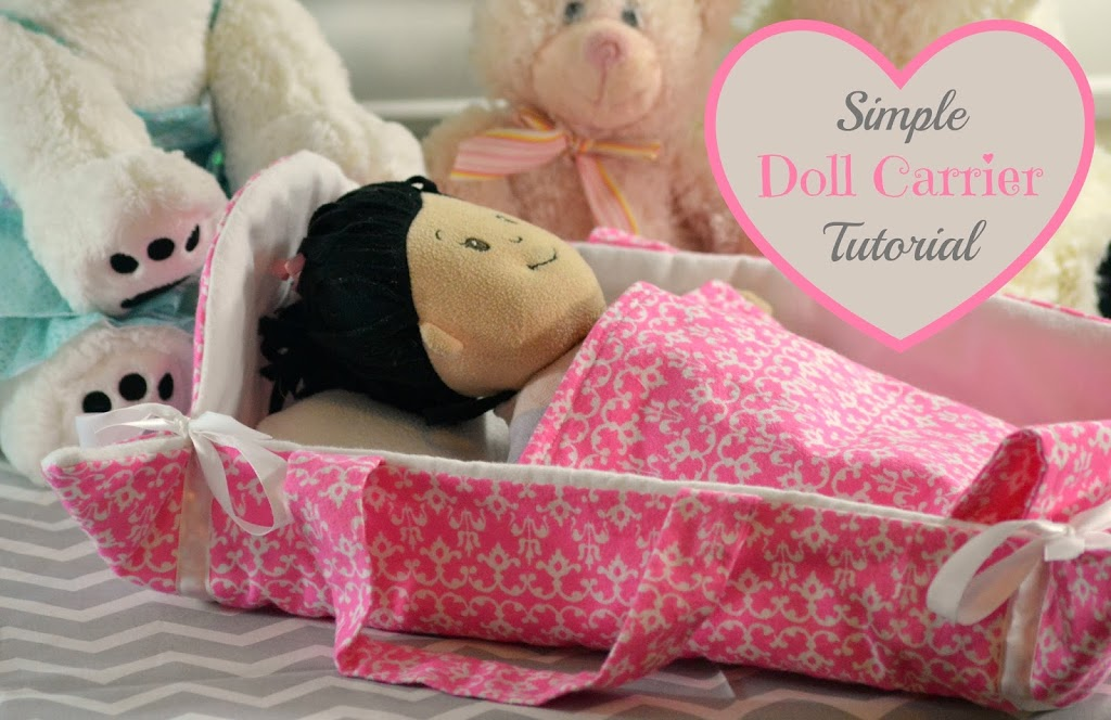 Simple Doll Carrier Sewing Tutorial - Almost Supermom
