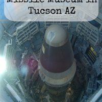 Titan Missile Museum in Tucson, AZ