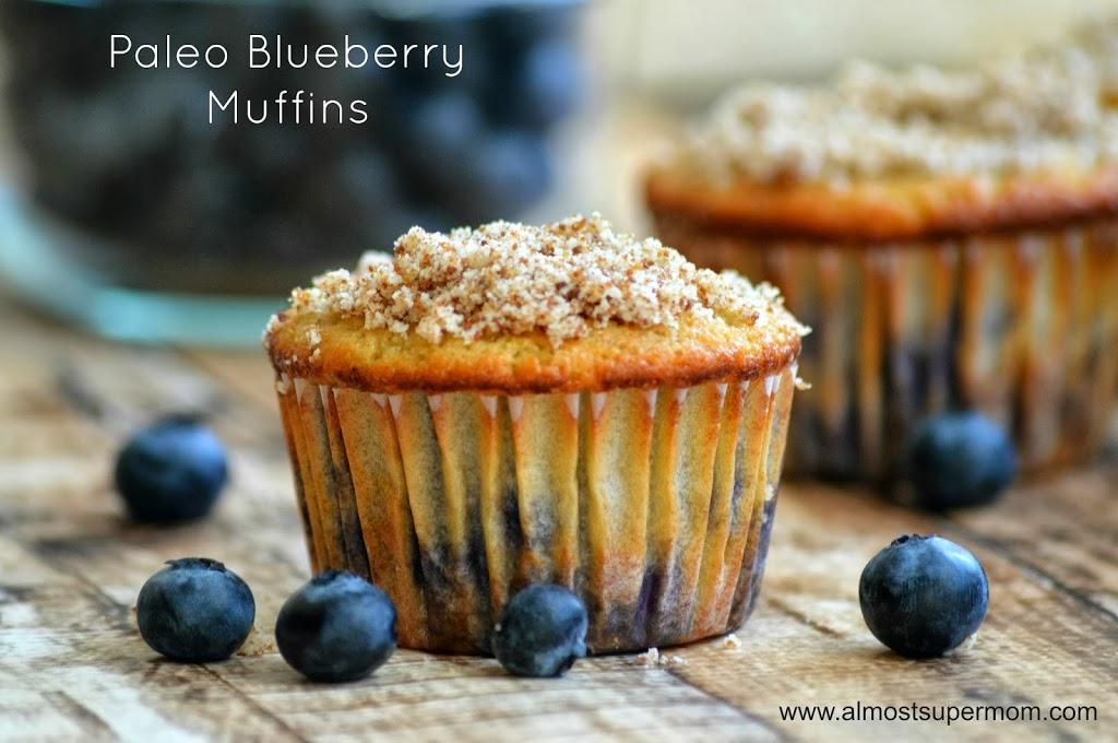 Almond Flour Blueberry Muffins Recipe