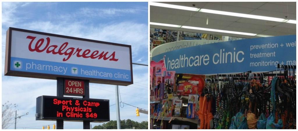 Walgreens HealthClinic
