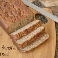 Paleo/Gluten Free Banana Bread