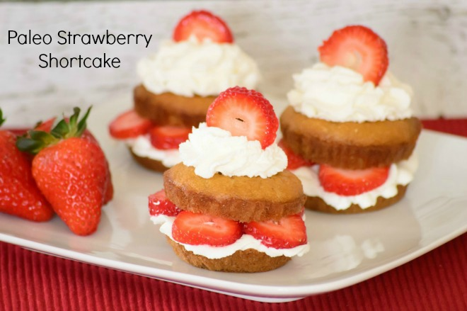 Paleo Strawberry Shortcake. This paleo recipe is a gluten free twist on everybody's favorite summer dessert. Easy to make and healthy too. You can't go wrong with this recipe!