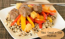 Paleo Sweet and Sour Meatballs