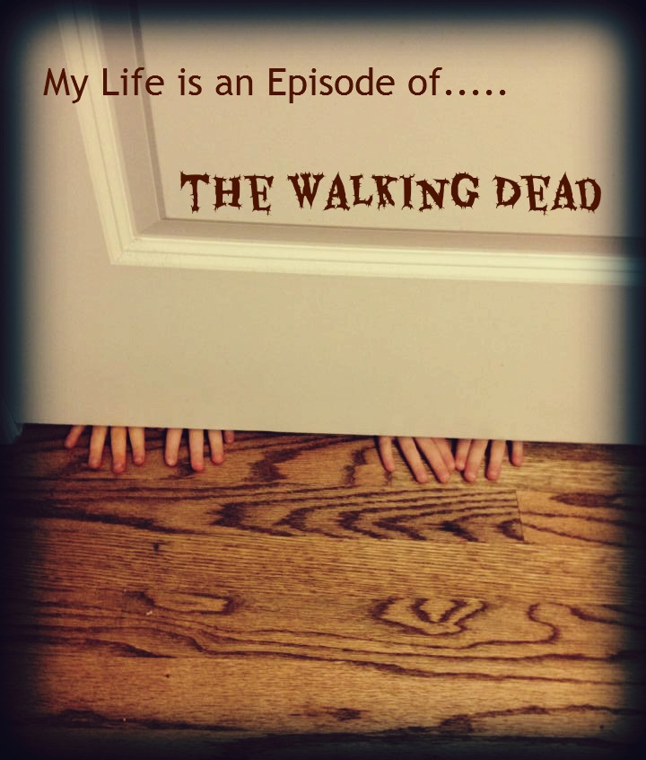 My Life is an Episode of the Walking Dead. If you have an infestation of walkers (AKA: Kids) you will LOVE this!