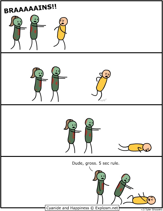 zombie 5 sec rule
