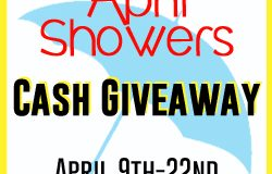April Showers Cash Giveaway!
