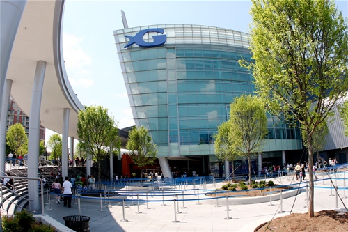 Georgia Aquarium Entrance