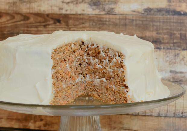 Grain Free Carrot Cake 3