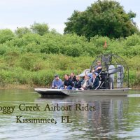 Boggy Creek Airboat Rides in Kissimmee, FL