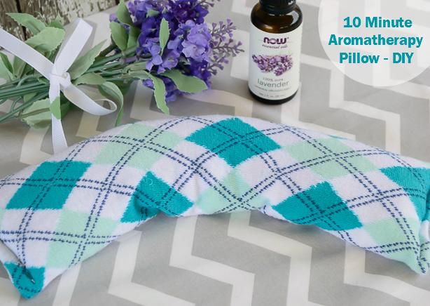 10 Minute Aromatherapy Pillow DIY