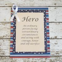 Heroes, Cards and Coffee – Saying Thank You to the Men and Women Serving our Country