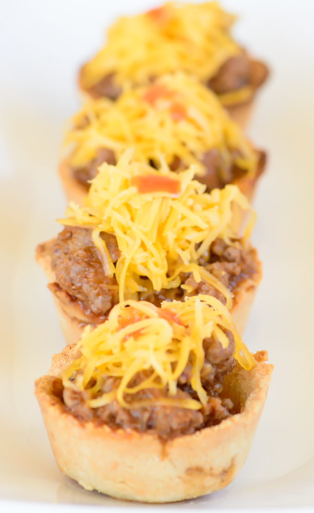 Gluten Free Sloppy Joe Bites. Perfect lunch or afternoon snack! These gluten free treats will not disappoint!
