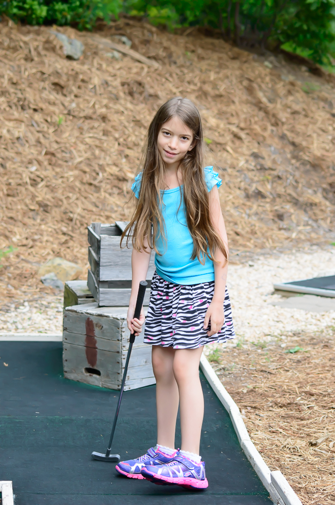 Wintergreen mini golf
