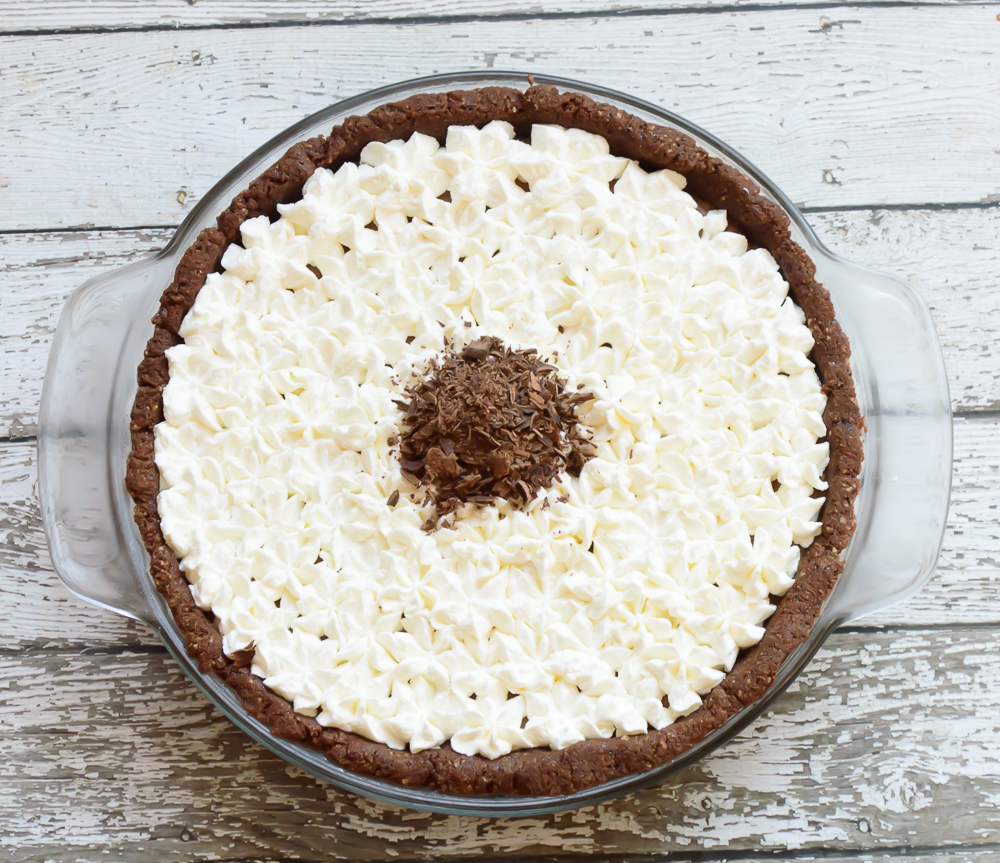 Paleo Chocolate Silk Pie 3