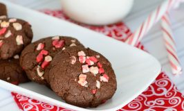Pretty Darn Healthy Chocolate Peppermint Cookies