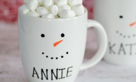 Personalized Snowman Mugs