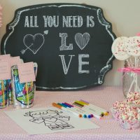 Easy Peasy Valentine's Day Party for Under $25 with Capri Sun