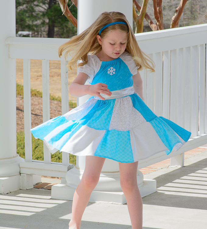 Frozen Inspired Peasant Dress Tutorial plus New \