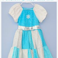 "Frozen Inspired Peasant Dress Tutorial plus New ""Frozen Fever"" Trailer!"