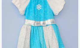 "Frozen Inspired Peasant Dress Tutorial plus New ""Frozen Fever"" Trailer!"