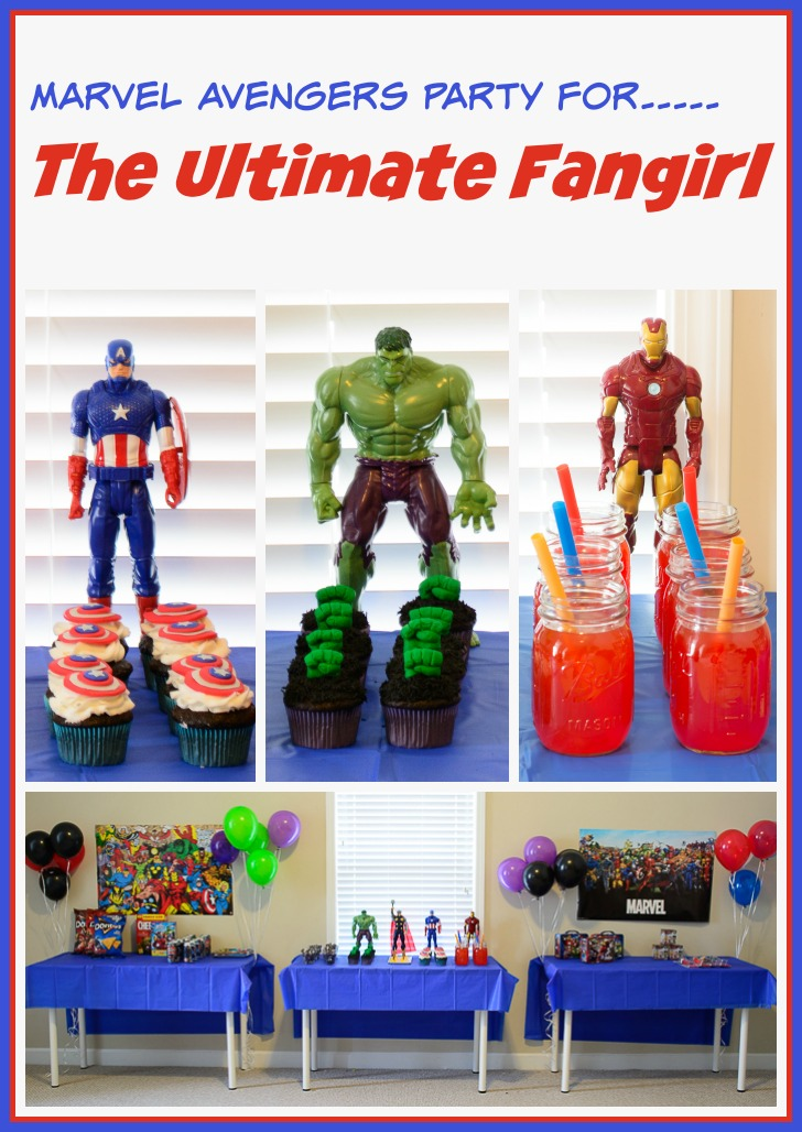 Throw a fantastic Marvel Avengers party for any fan in your family! Great tips and food ideas!