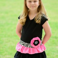 DIY Upcycled T-shirt Dress for Girls
