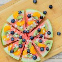 Watermelon Dessert Pizza