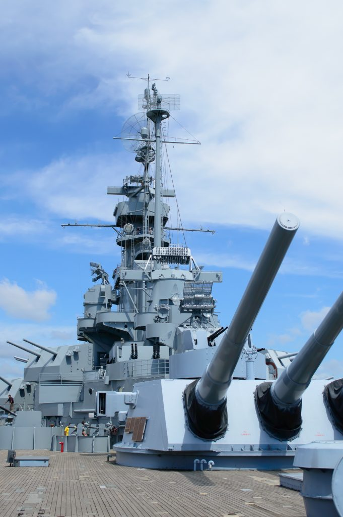 U.S.S Alabama Battleship in Mobile AL