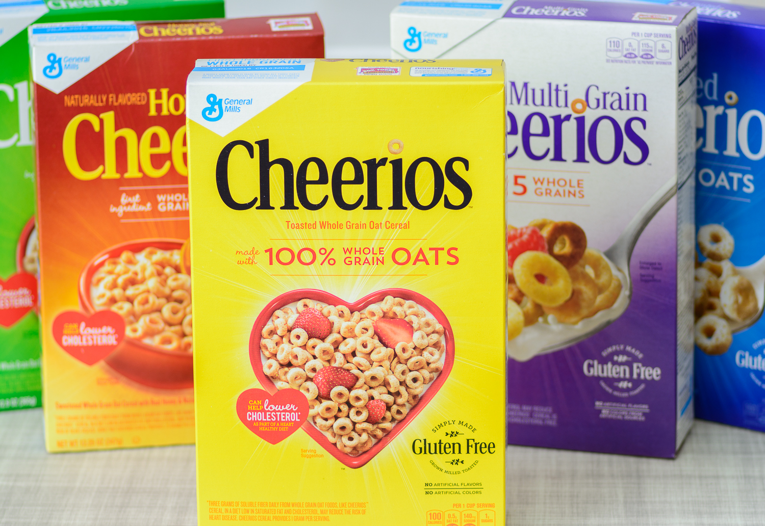 Honey Nut Cheerios Cereal Bars with