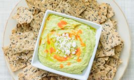 Zesty Avocado & Feta Hummus