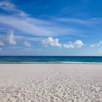 White Sandy beaches of Gulf Shores, AL