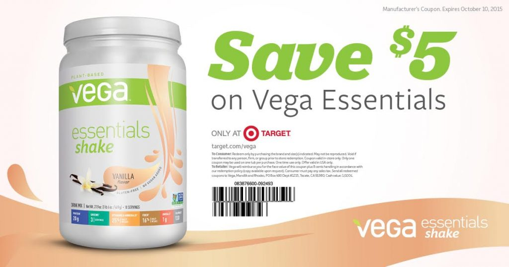 Vega Essentials Coupon