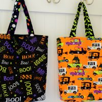Easy DIY Trick or Treat Bag Tutorial