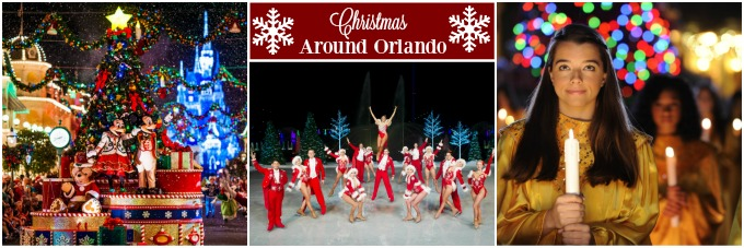 Christmas Around Orlando. Christmas is a magical time of year no matter where you are, but if you happen to be in Orlando, or thinking about heading down there, you won't want to miss these festive events that will fill you with Christmas cheer!
