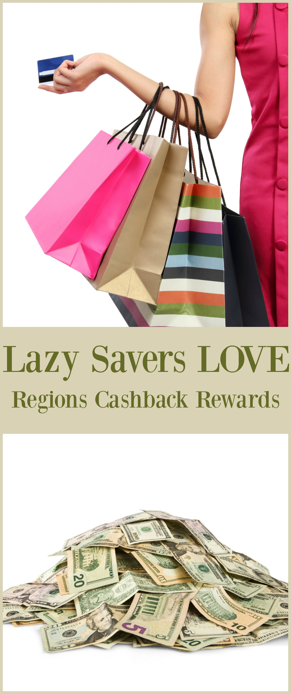 Lazy Savers Love Regions Cashback Rewards