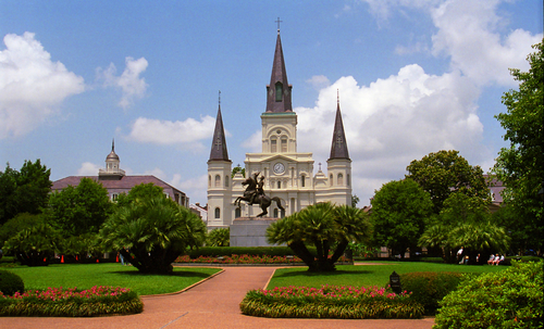 8 Most Romantic Cities in the US. New Orleans, LA