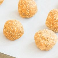 Protein Packed Peanut Butter & Quinoa Bombs
