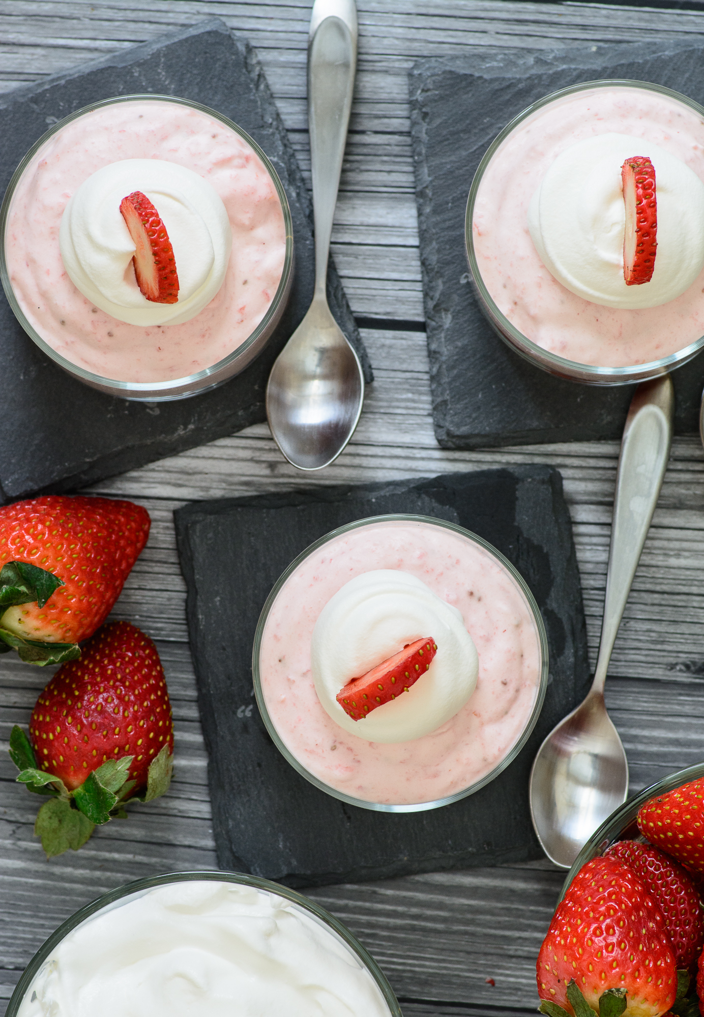 3 Ingredient Strawberry Mousse Almost Supermom
