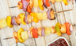 Sweet & Sour Chicken Kabobs