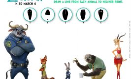 Zootopia Coloring Pages & Activity Sheets