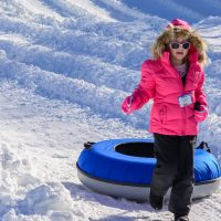 Snow Tubing at Beech Mountain Resort