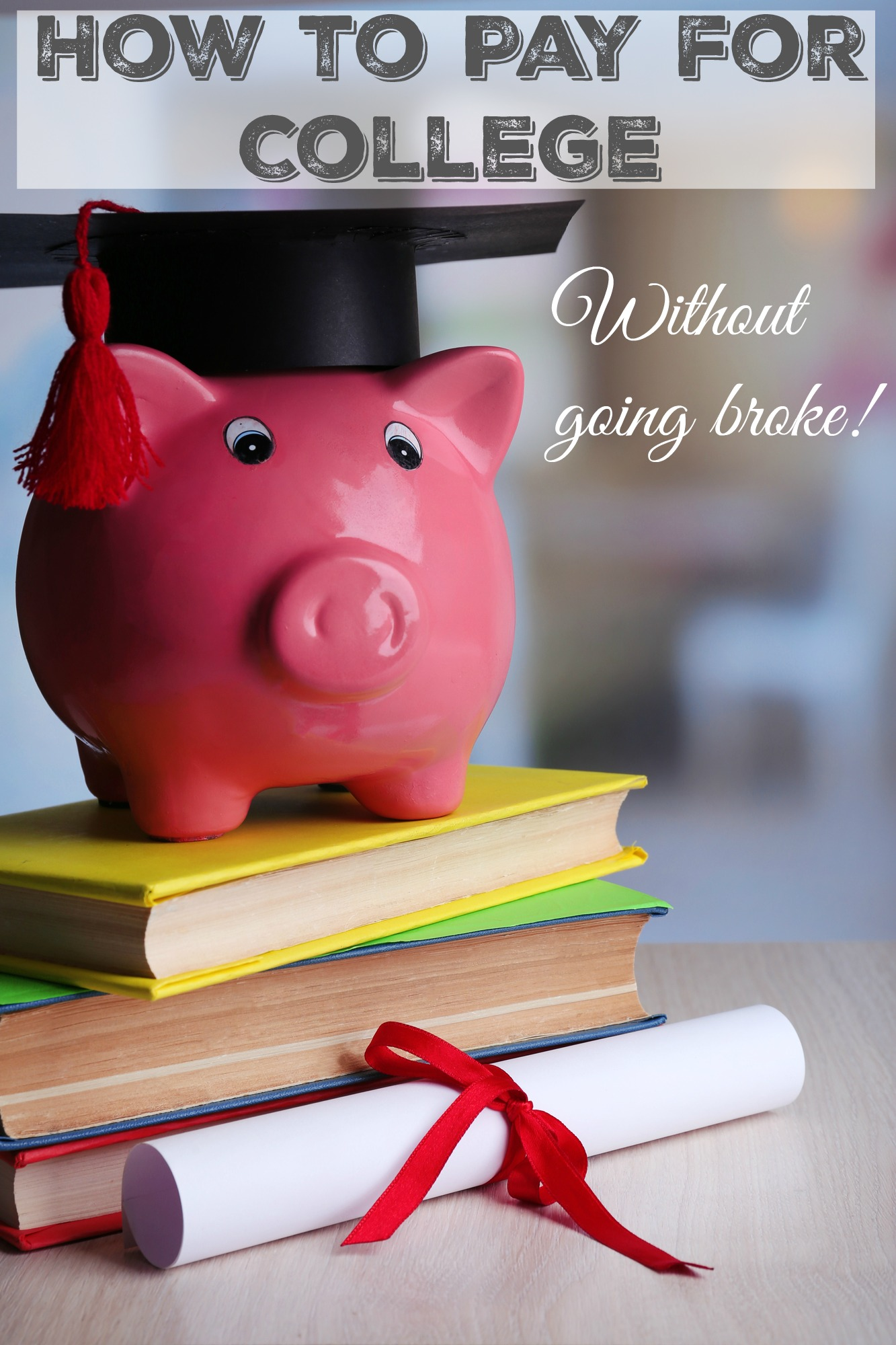 How to pay for college without going broke. College costs have skyrocketed over the last few years, making it expensive to get an education. Find out how you can afford to send your child to college without going completely broke. Real advice from a parent who has been there!