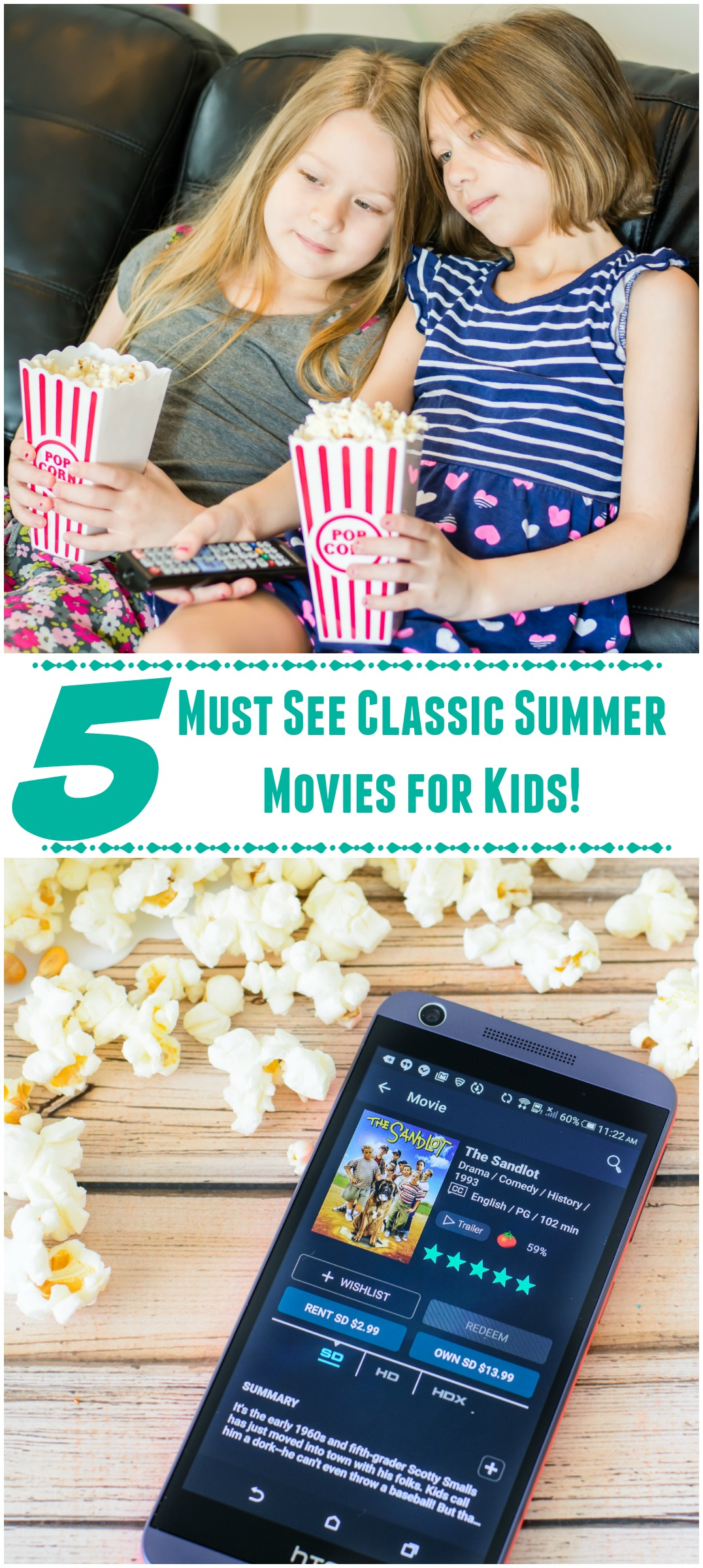 PicMonkey Must See Classic Summer Movies for Kids!