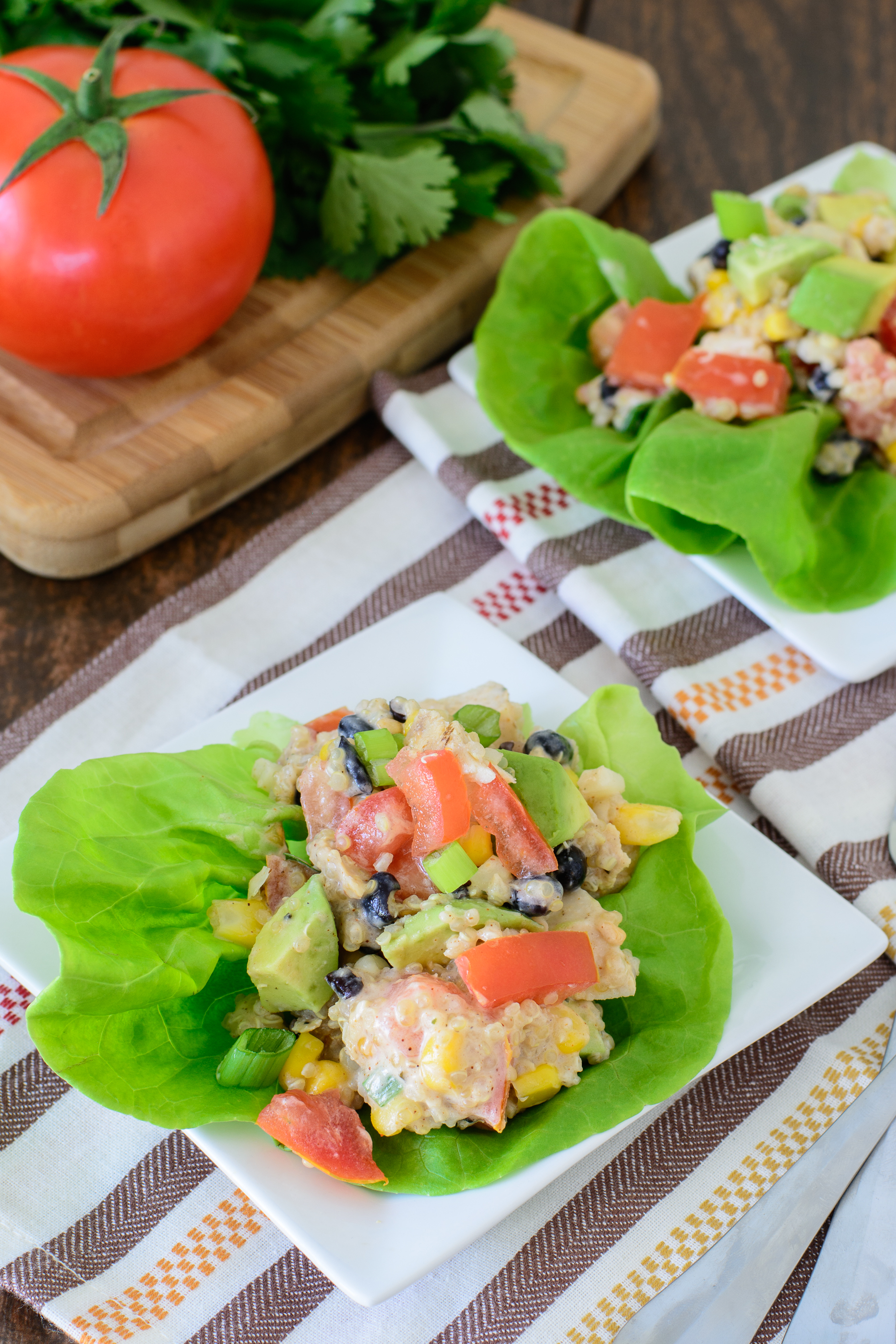 This versatile quinoa recipe will be the hit of all your summer parties and BBQs. Delicious, filling and healthy! You can't lose with this great summer recipe!