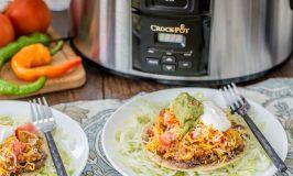 Crock-Pot® Slow Cooker Spicy Quinoa Tostadas
