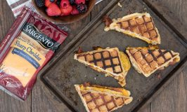Grilled Waffle Breakfast Sandwich