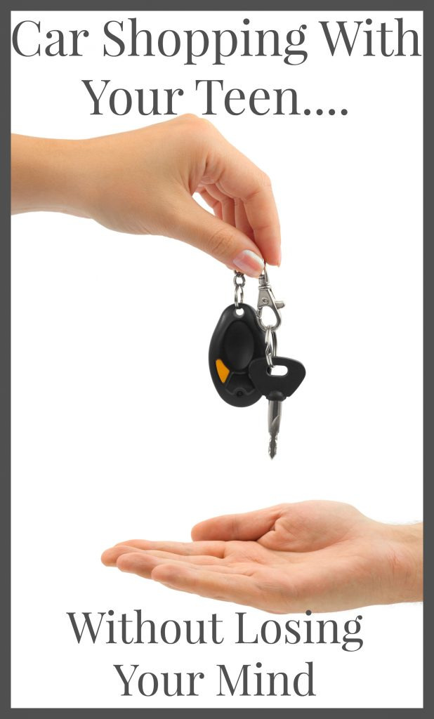 Car Shopping woth Your Teen Without Losing Your Mind